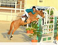 Luciana wins the Grand Prix at the HH the Emir of Qatar Sword International Showjumping Festival in Doha
